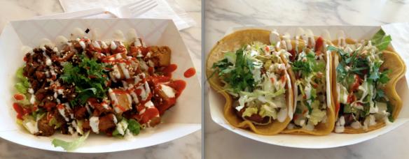 Tacos and Salad Bowl
