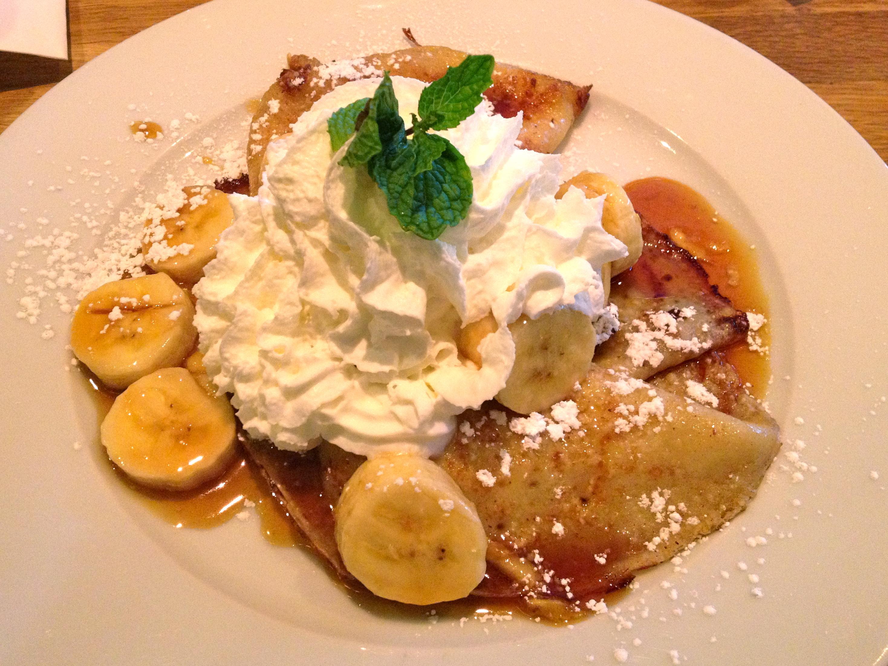 Banana Cafe Dc Brunch Menu
